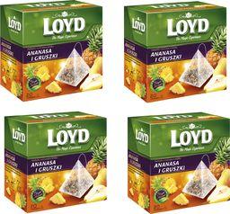 LOYD LOYD Herbata Ananas i Gruszka 80 torebek piramidki