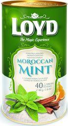 LOYD Herbata LOYD Mint Moroccan piramidki - 40 torebek w puszce