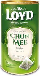 LOYD Herbata LOYD Chun Mee piramidki - 40 torebek w puszce