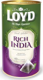 LOYD Herbata LOYD Rich India piramidki - 40 torebek w puszce
