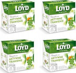 LOYD LOYD Herbata Aktywne trawienie 80 torebek piramidki