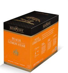 Richmont Herbata Richmont Peach Lemon Star 50