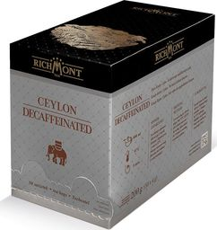 Richmont Herbata Richmont Decaffeinated 50 Czarna