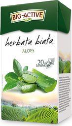 Big Active Herbata Big - Active biała z aloesem 20 torebek - 4szt.
