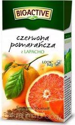 Big Active Herbata Big-Active owocowa Czerwona Pomarańcza z Lapacho 20 torebek