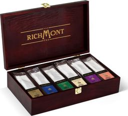 Richmont Drewniana Skrzynka z herbatą Richmont