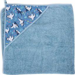 Ceba Ręcznik dla niemowlaka Printed Line Shark 100x100 Ceba