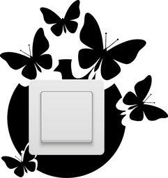 e-druk NAKLEJKA POD KONTAKT, WŁĄCZNIK