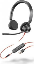 Słuchawki z mikrofonem Poly Blackwire 3325 USB-A (213938-01)