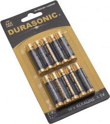 Coen Bakker Alkaliczne baterie Durasonic, listek 10szt, AAA