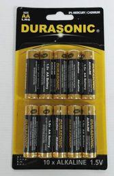 Coen Bakker Alkaliczne baterie Durasonic, listek 10szt AA