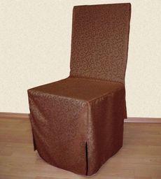 Albani Pokrowiec na krzesło Mitchel, brązowy, 45x45x97. HIT