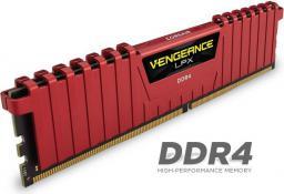Pamięć Corsair Vengeance LPX, DDR4, 16 GB,2400MHz, CL14 (CMK16GX4M4A2400C14R)