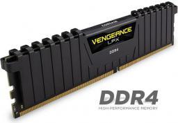 Pamięć Corsair Vengeance LPX, DDR4, 16 GB, 2133MHz, CL13 (CMK16GX4M4A2133C13)