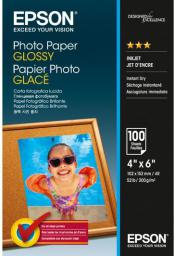 Epson Papier Epson photo Glossy [ 200g 10x15cm 100 sheets ] (C13S042548)