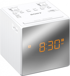 Radiobudzik Sony IC-FC1TW Biały