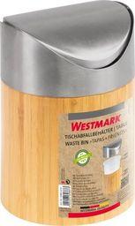 Kosz na śmieci Westmark uchylny brązowy (69882270)