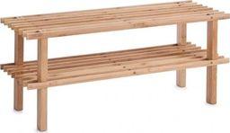 Zeller Zeller, Regał na buty, 2 półki, z drewna bambusowego, 26x70x30cm