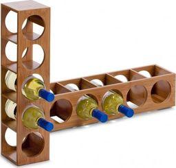 Zeller Zeller, Regał na wino, 12.5x13.5x53cm