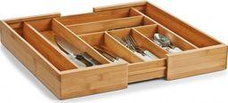 Zeller Zeller, Regulowany wkład do szuflady z drewna bambusowego, 35x4cm