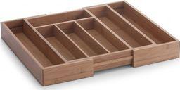 Zeller Zeller, Regulowany wkład o szuflady z drewna bambusowego, 18x33.5cm