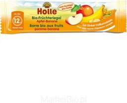 Holle Bio Batonik owocowy jabłko-banan 12m+ Holle