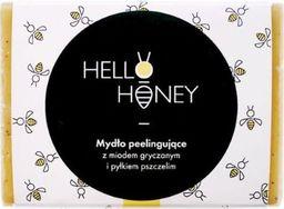 LullaLove Peelingujące mydło z pyłkiem pszczelim i miodem 100g