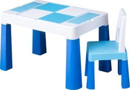 Tega Komplet MultiFun krzesełko + stolik niebieski Tega
