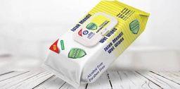 Lider Cosmetic Chusteczki do dezynfekcji Fresh Detox antybakteryjne żółte 80 szt Lider Cosmetic