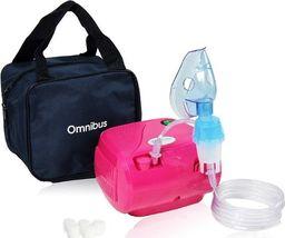 Omnibus Inhalator BR-CN116 OMNIBUS - 4 kolory - Różowy ciemny