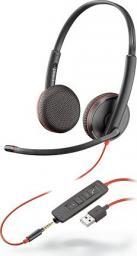 Słuchawki z mikrofonem Poly Blackwire Poly C3225 USB-A/IN (209747-201)