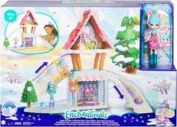 Mattel Enchantimals Zimowa chatka zestaw (GJX50)