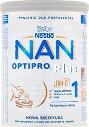 Nestle Mleko modyfikowane Nan Optipro Plus 1 400g
