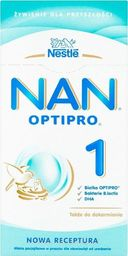 Nestle Mleko modyfikowane Nan Optipro 1 350g