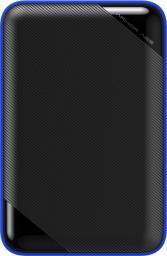 Dysk zewnętrzny Silicon Power HDD Armor A62 1 TB Czarno-niebieski (SP010TBPHD62SS3B)