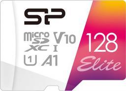 Karta Silicon Power Elite MicroSDXC 128 GB Class 10 UHS-I/U1 A1 V10 (SP128GBSTXBV1V20SP)