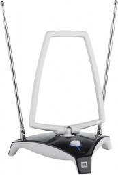 Antena RTV One For All wewnętrzna ze wzmacniaczem czarno biała   (SV9360)