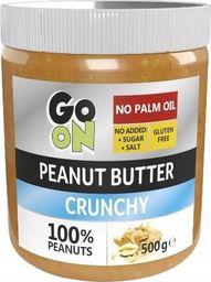 Sante Sante Masło orzechowe 100% naturalne Go On Peanut Butter Crunchy 500g -  4szt karton