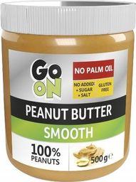 Sante Sante Masło orzechowe 100% naturalne Go On Peanut Butter Smooth 500g -  4szt karton