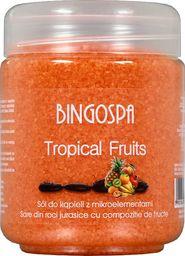 BingoSpa Sól do kąpieli Tropical Fruits z mikroelementami 550g