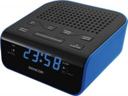 Radiobudzik Sencor SRC 136 BU Czarno-niebieski