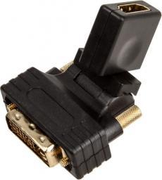 Adapter AV InLine InLine HDMI-DVI Adapter HDMI - DVI - elastyczny kąt - (17660W)