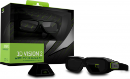 Okulary 3D NVIDIA GeForce 3D Vision 2 Gaming Wireless Kit (942-11431-0009-001)
