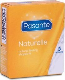 Pasante 3 Prezerwatywy Anatomiczne Pasante Naturelle