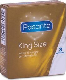 Pasante 3 Prezerwatywy Duże Pasante King Size