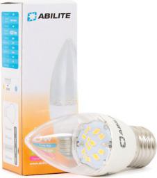 """Abilite Żarówka LED E27 """"Świeczka-Clear"""" B.ciepły, 6W/230V 420lm kąt św. 150° (RETRO) C37W6 (5901583545511)"""
