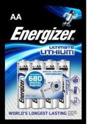 Energizer Bateria Ultimate AA / R6 4szt.
