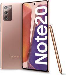 Smartfon Samsung Galaxy Note 20 256GB Dual SIM Brązowy