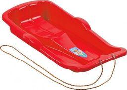 Marmat Sanki plastikowe dla dzieci ślizgacz czerwone UNIWERSALNY