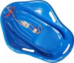 Marmat Sanki plastikowe muszla niebieska + sznurek UNIWERSALNY